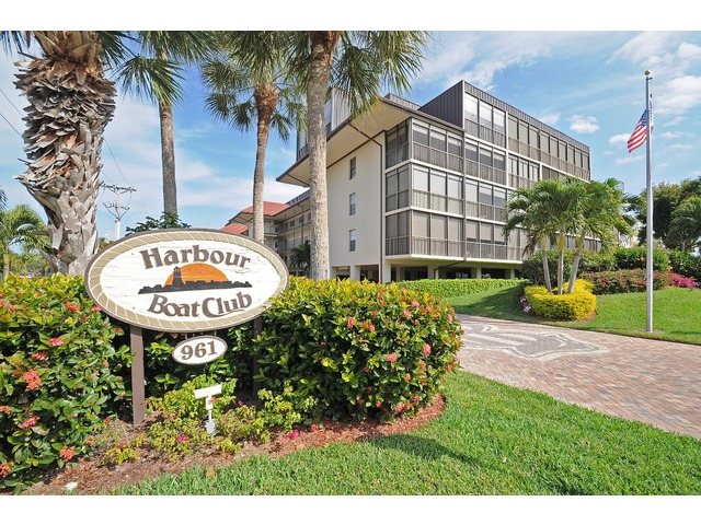 Harbour Boat Club Condos on Marco Island Florida